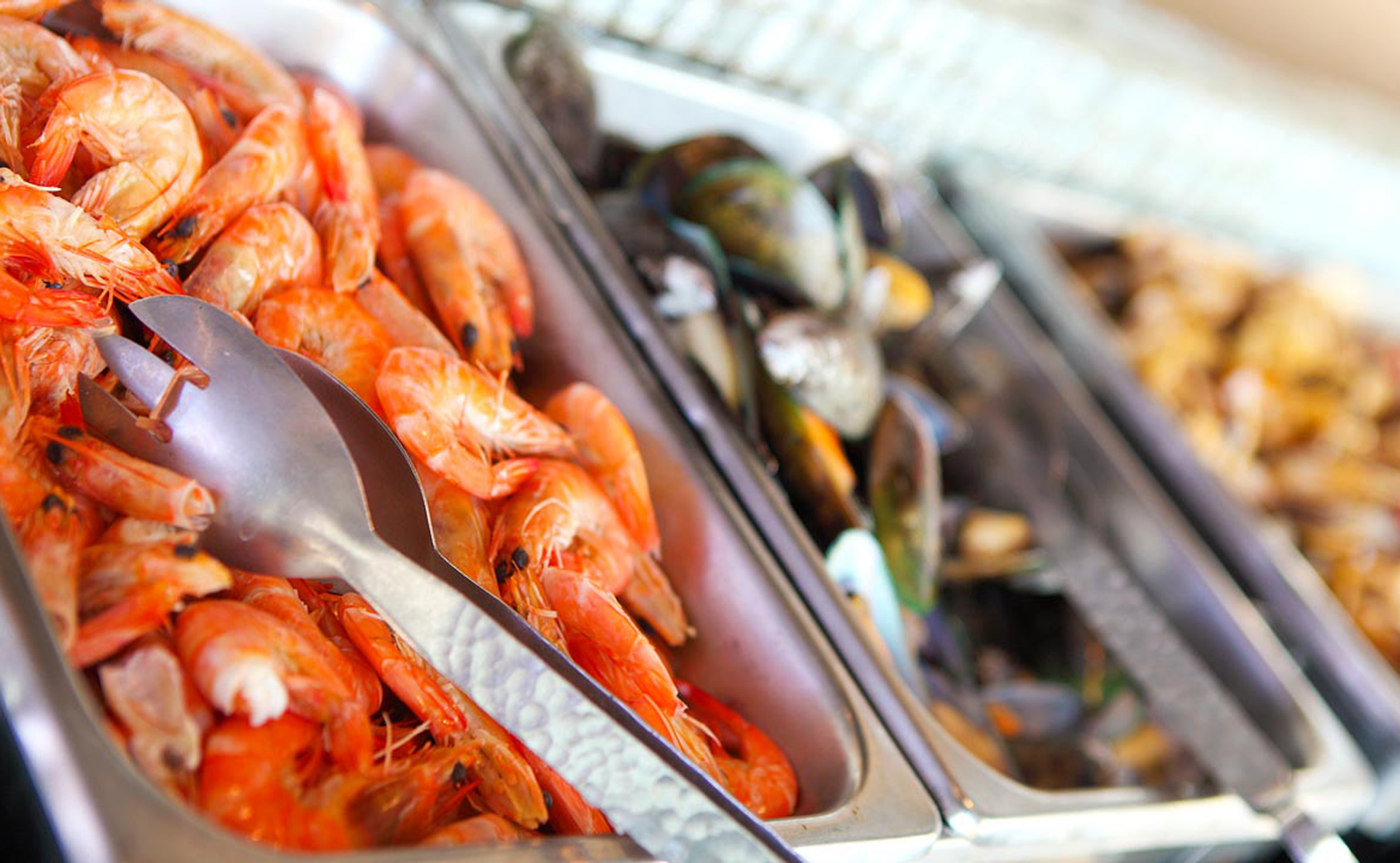 Friday Seafood Buffet - 4:30 - 8:00 pm