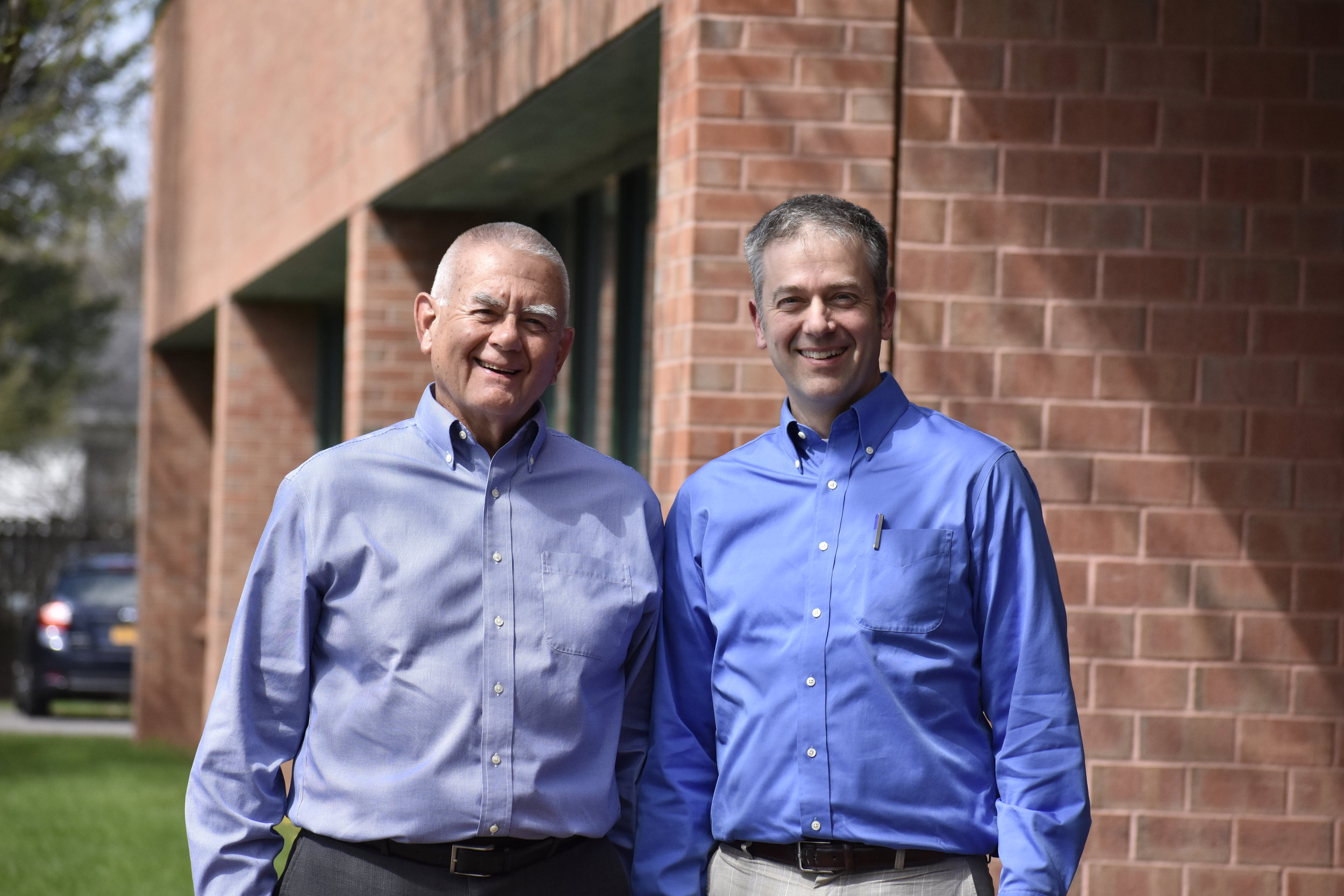Jeff Emhoff, SIOR (left) and Josh Emhoff (right)