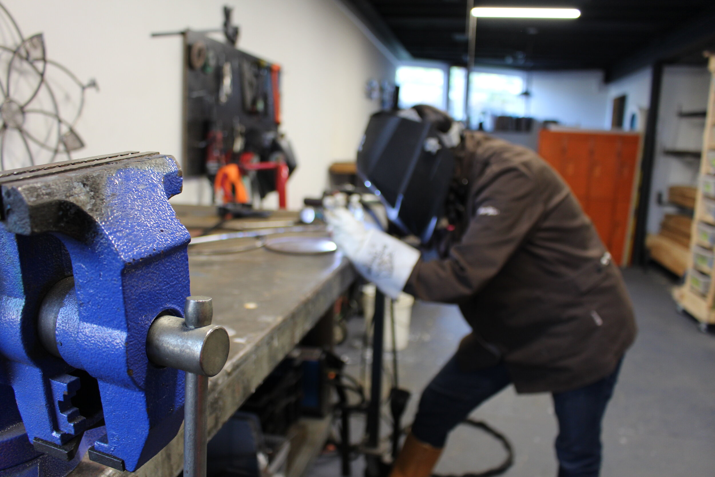 Learn TIG welding with a one-on-one project! - Schedule with us to book an appointment