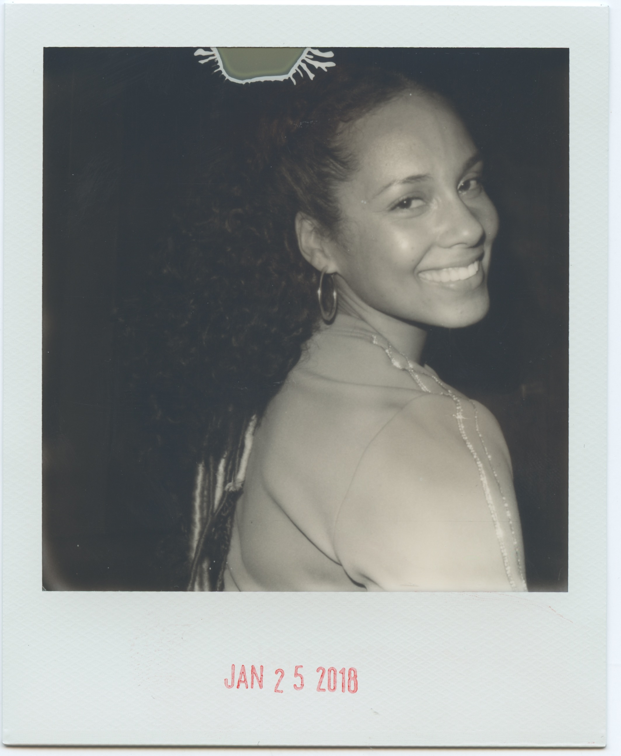 We had the honor of shooting Alicia Keys' birthday celebration at Tao Downtown. - // Alicia specifically requested that our team used Black and White film for her special night.