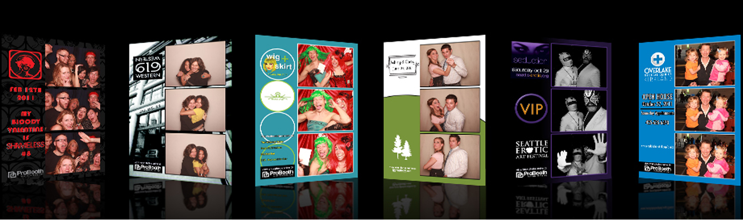 CUSTOM BRANDING - In addition to being able to brand your prints with your event or venue logo and details, we can also customize your ProBooth to look like anything you want. Use this physical space to build your brand or promote a future event. It's up to you!