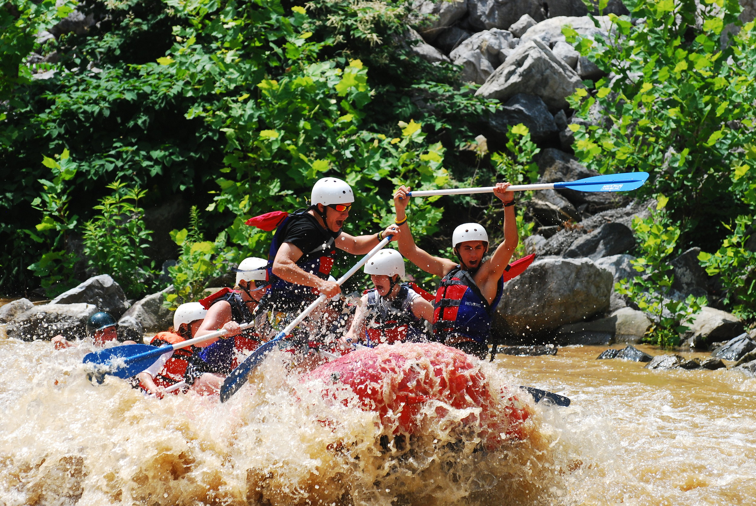 Discounted Rafting Trips