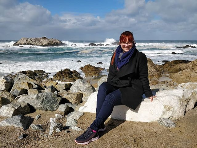 It stopped raining for 5 minutes so we took as many photos as we could. 😊 #17miledrive #PebbleBeach #Monterrey