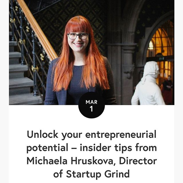 Shameless self-promotion alert! I was interviewed by the amazing Anna Henschel @annaundbelle for the University PhD blog @uofg_pgrblog. We talked about the story behind @startupgrinduog, my passion for entrepreneurship and how researchers are well equipped with the skills to be entrepreneurs, and, of course, the entrepreneurial ecosystem in Scotland. Go read it now, it's a really great article (if I can say so myself) - uofgpgrblog.com #research #entrepreneurship #ecosystem #PhD #StartupGrind