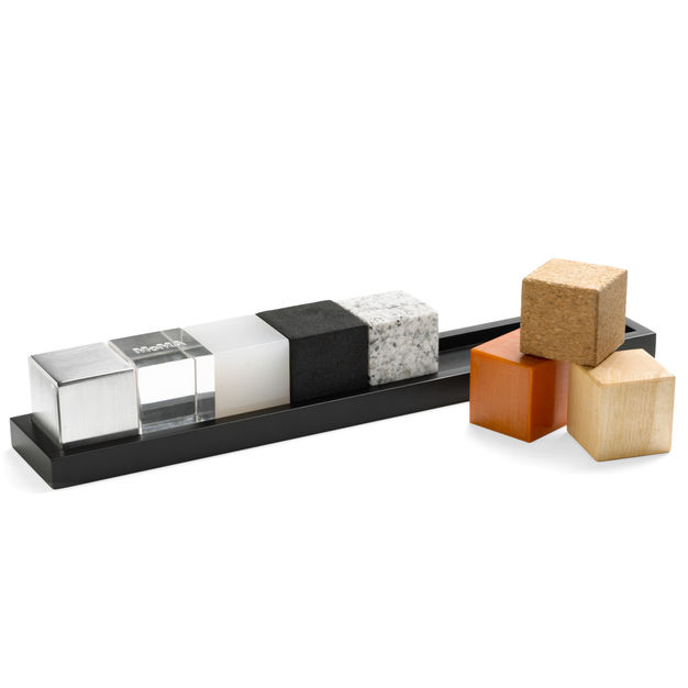 For Dad's Desk - For the man that has everything, this little beauty is a great option to help your favorite father pass the time while tethered to so many conference calls. Help bring out the creative in him with these gorgeous, but simple architectural blocks. He'll no doubt build you something grand.