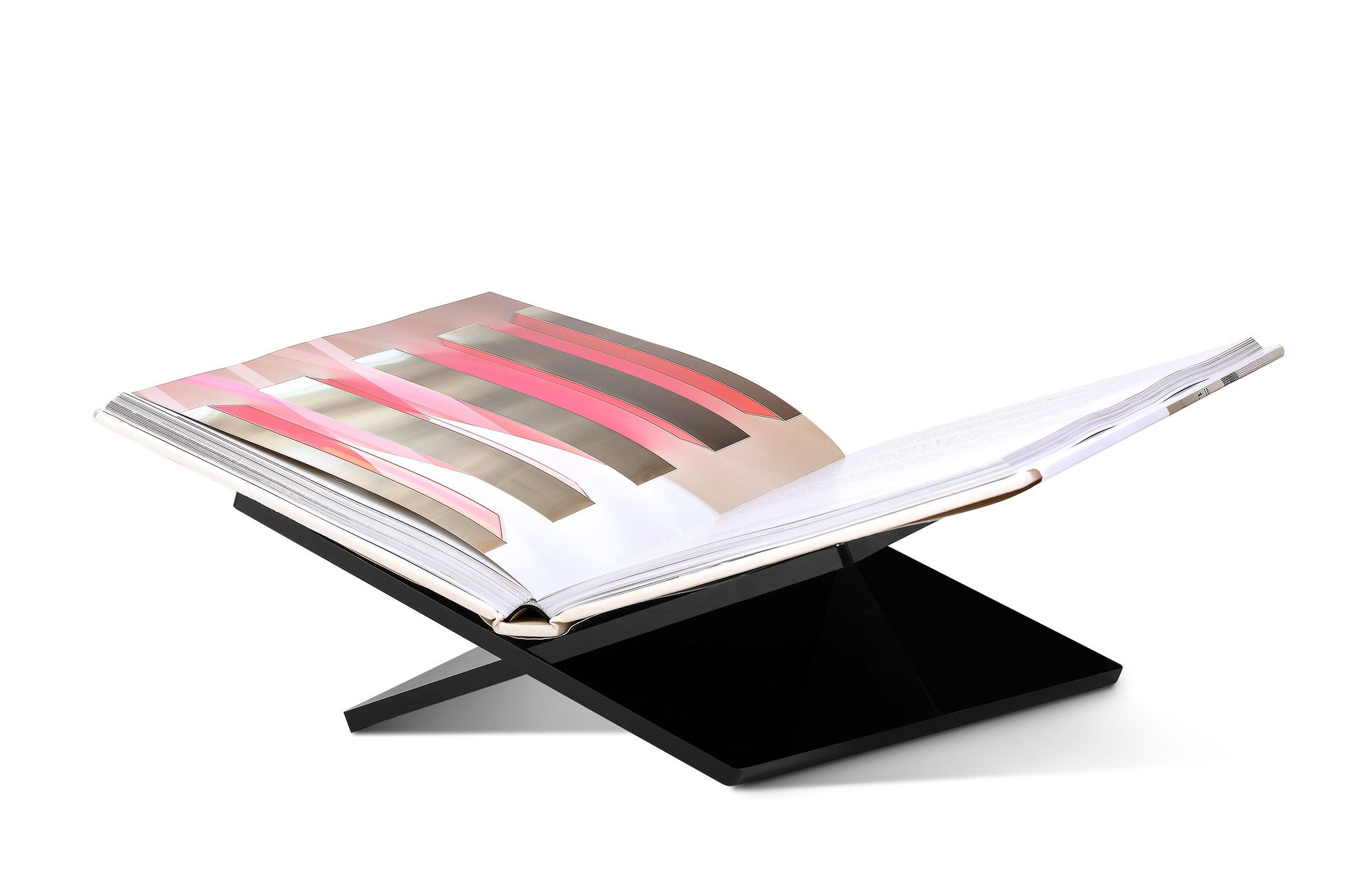 For the Home; Yours included! - Since consumption of coffee table books is an ongoing addiction for me, this bookstand will be making its way under my tree this year. Simple, striking and beautiful on its own, this bookstand will help you show off any favorite and inspiring page, keeping you reading from cover to cover.