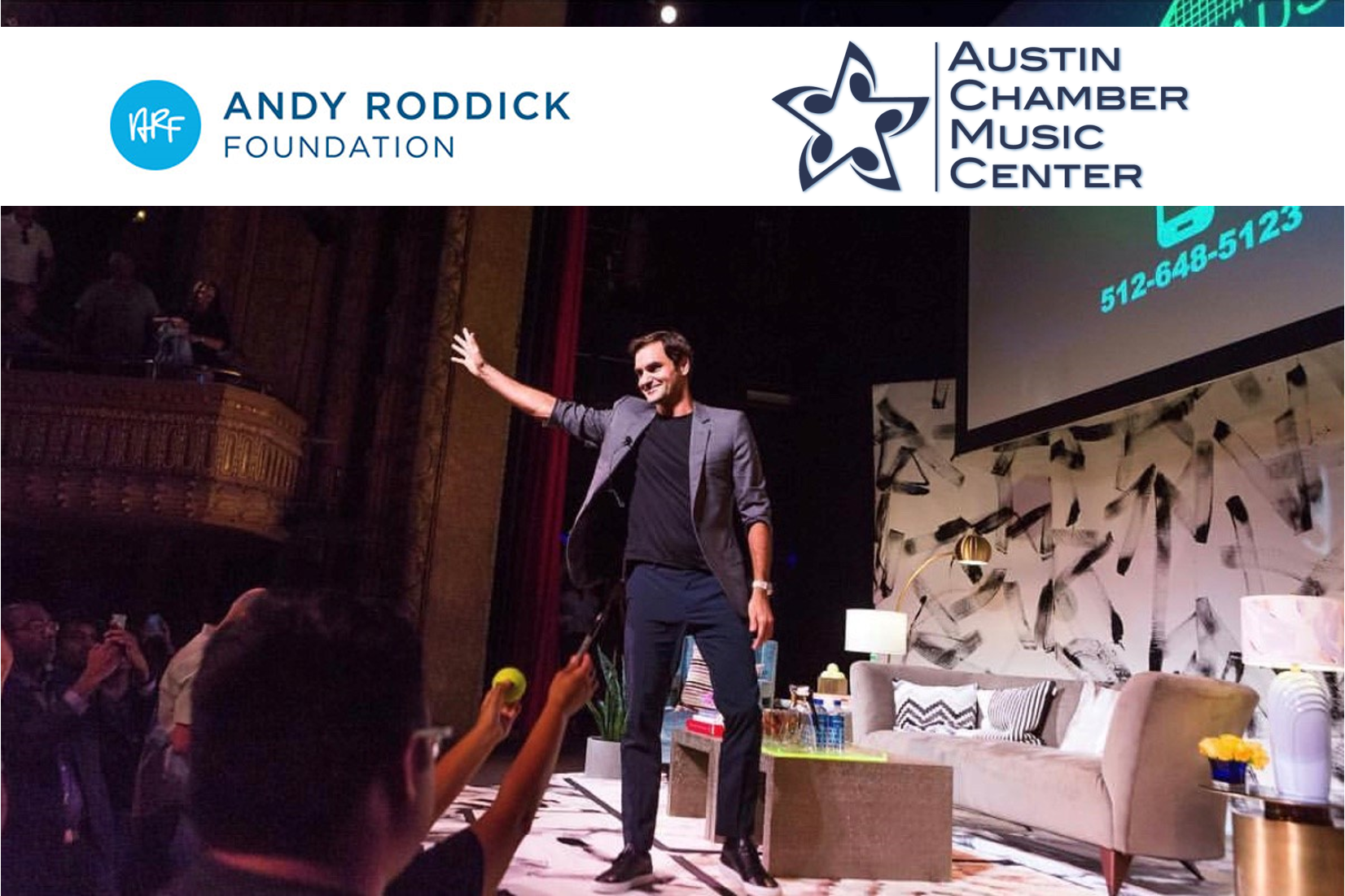 For the Giver - For your favorite, and always generous friend, consider donating to our two favorite non-profits. We love collaborating with them and love seeing them grow!Austin Chamber Music CenterorThe Andy Roddick Foundation