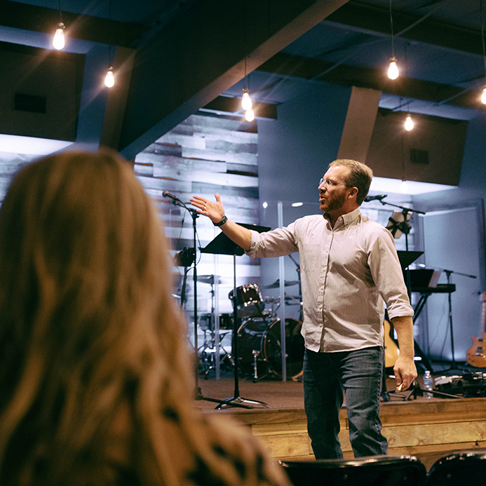 WHAT ARE SERVICES LIKE? - Our services are typically an hour and fifteen minutes in length and include times of worship, prayer, and teaching of God's Word.