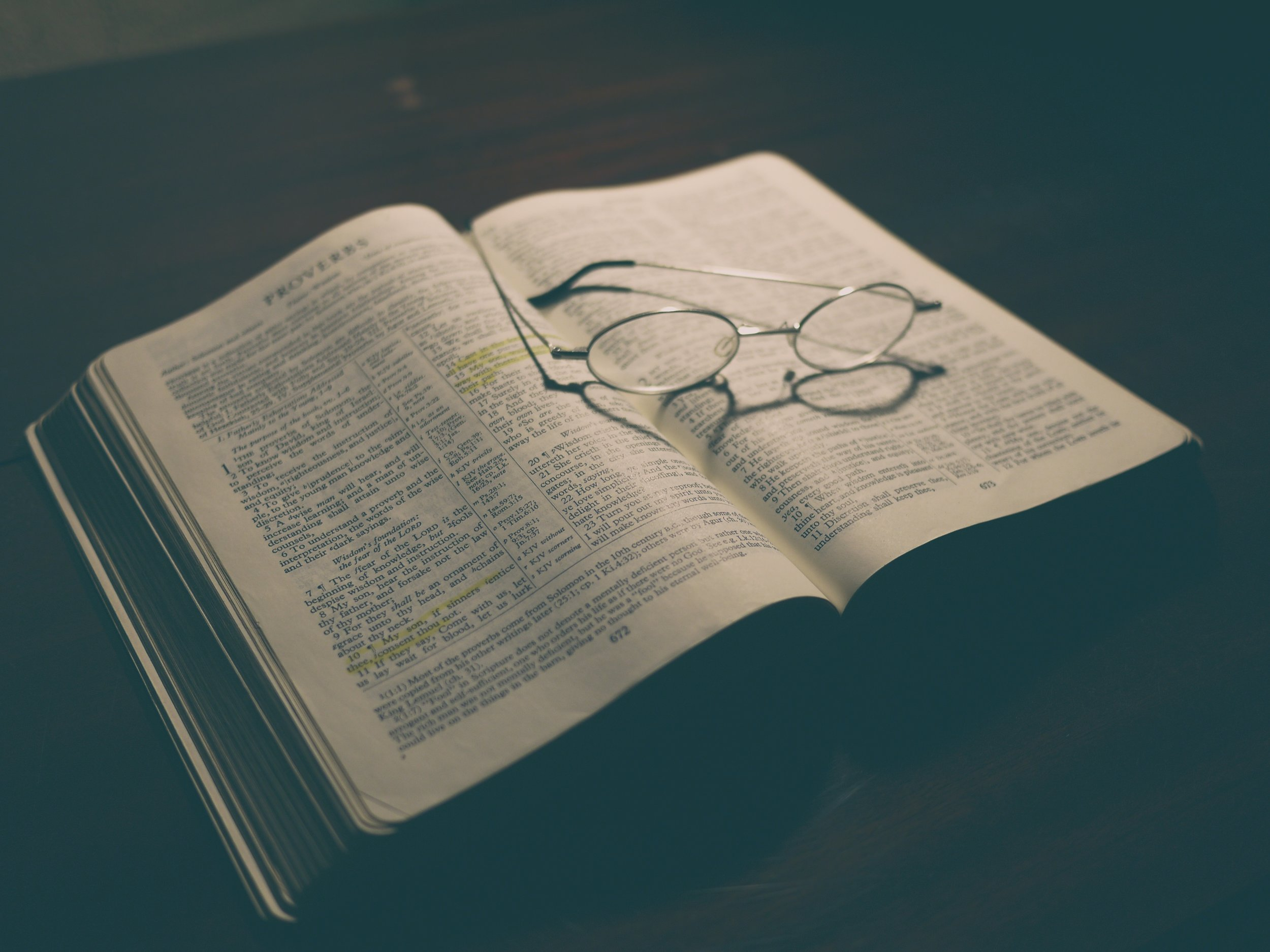 Theology Proper (the study of God) -