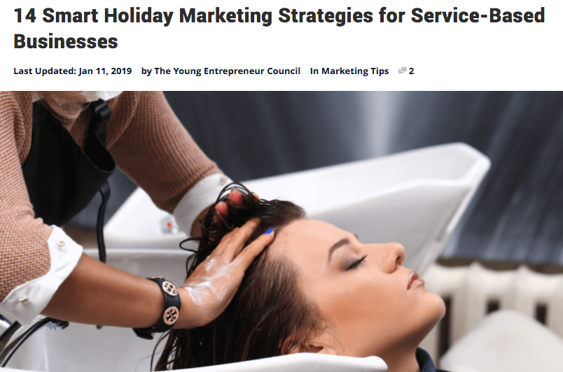 14 Smart Holiday Marketing Strategies for Service-Based Businesses