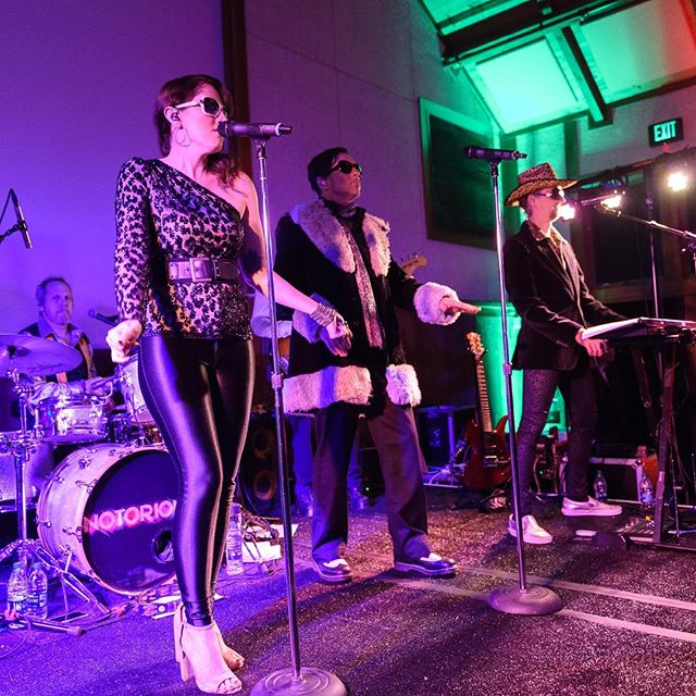 A little #tbt to the 2018 @sfzoo2 Fur Ball Gala! A reminder that our job is so fun Halloween isn't the only time of the year we get to play dress up! #notoriousrocks . . . . #costume #thursday #fun #sing #dance #play #music #livemusic #sanfrancisco #bayarea #coverband #danceband #weddingband #gala #fundraiser #notorious 📷: @drewaltizerphotography