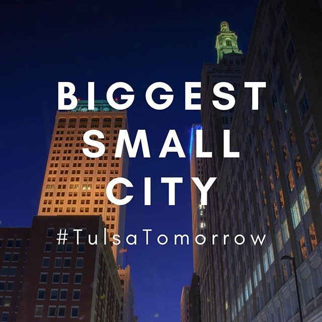 . BIGGEST SMALL CITY #tulsatomorrow  www.tulsatomorrow.com . . #biggestsmallcity #biggestsmallcityintheworld #bigcity #smallcity #goldilockscity #justright #oneofeverything #buildings #architecture #cityvibes #nightcity #bigcitylights #bigcitylife #smallcityprices #nicecity #skyscrapers #tallbuildings #walkingcity #historic #artdeco #oilboom #cityarchitecture #jewishyoungprofessionals #jewishcity #greatplacetoraiseafamily #jswipe #jdate #philanthropiccity