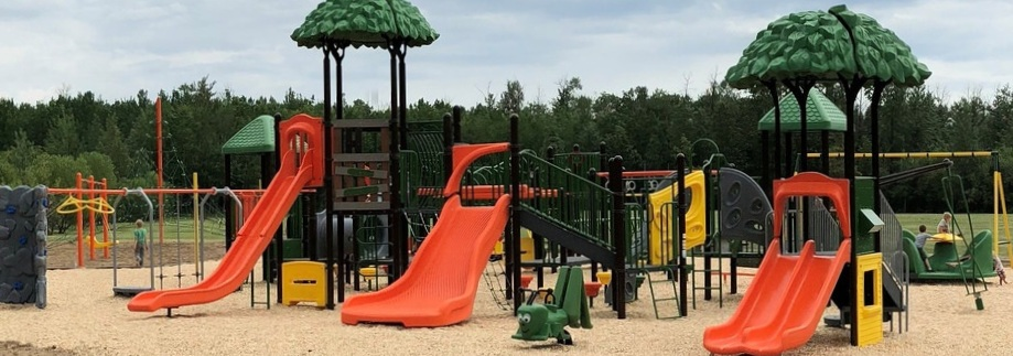 Just 1 of 2 playgrounds!
