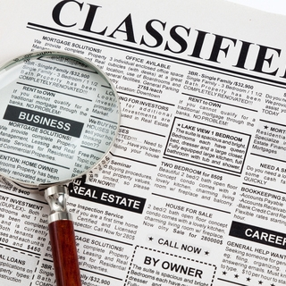 Classified Ads - Read or post career opportunities, including jobs, residencies and internships.