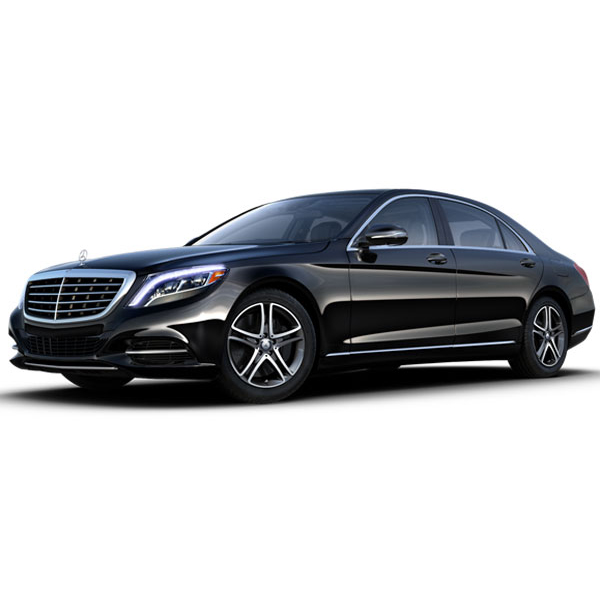 Mercedes S550 - Our Mercedes S550 seats up to 3 passengers with plenty of room for luggage.