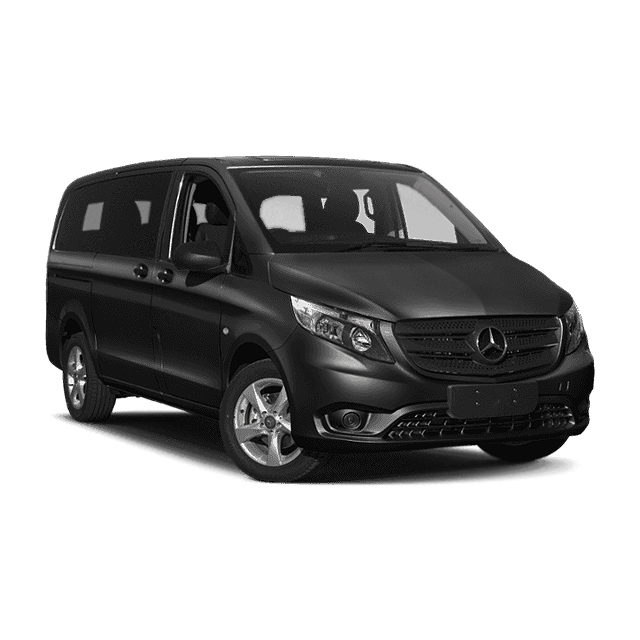 MercedesMetris - Our Mercedes Metris seats up to 7 passengers with plenty of room for luggage.