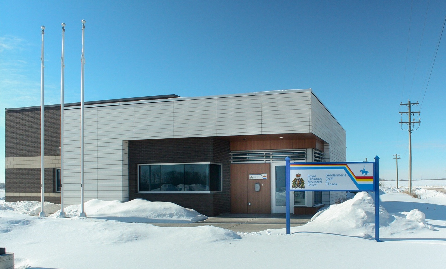 Job Name:  Elk Point RCMP   Contractor:  Kenlar Insulations   Description:  Construction of a new RCMP detachment in Elk Point Alberta. The building also included a detention facility and an intricate security system.