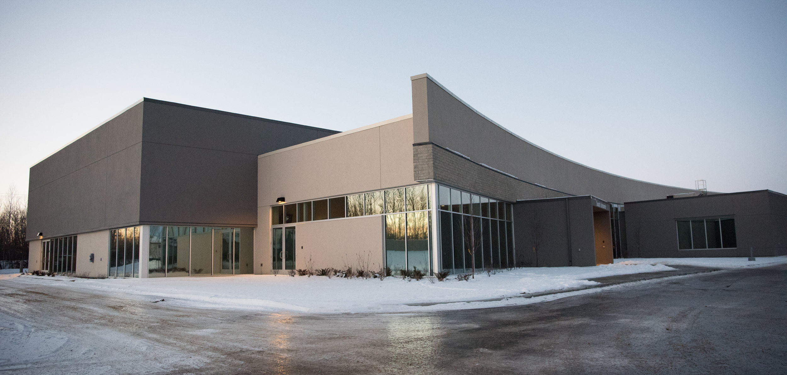 Job Name:  North Point Church   Contractor:  Keller Construction   Description:  Expansion of an existing church on the north side of Edmonton. The new section of the building included a new multi-purpose room as well as new classrooms, and renovations to some of the existing church.