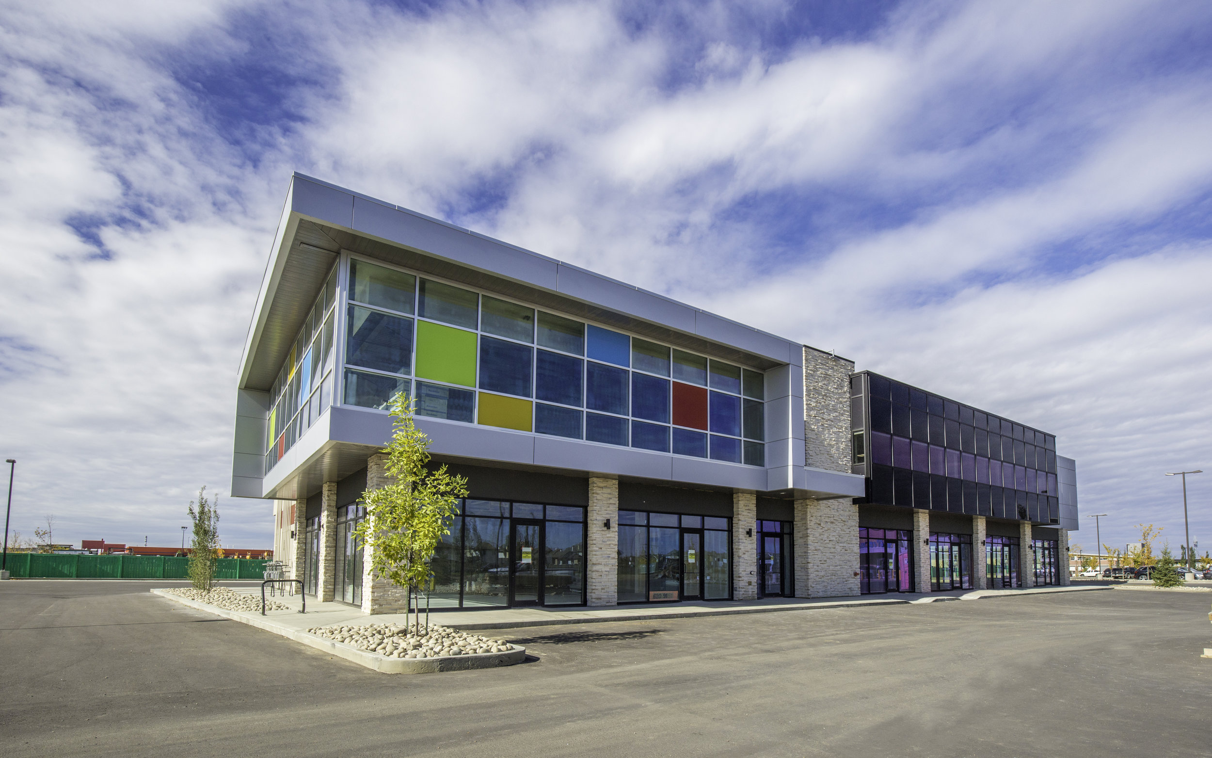 Job Name:  Ellwood Medical   Contractor:  Keller Construction   Description:  Multi-level medical facility in Ellerslie, with easy access off of the Anthony Henday and just minutes away from South Edmonton Common.