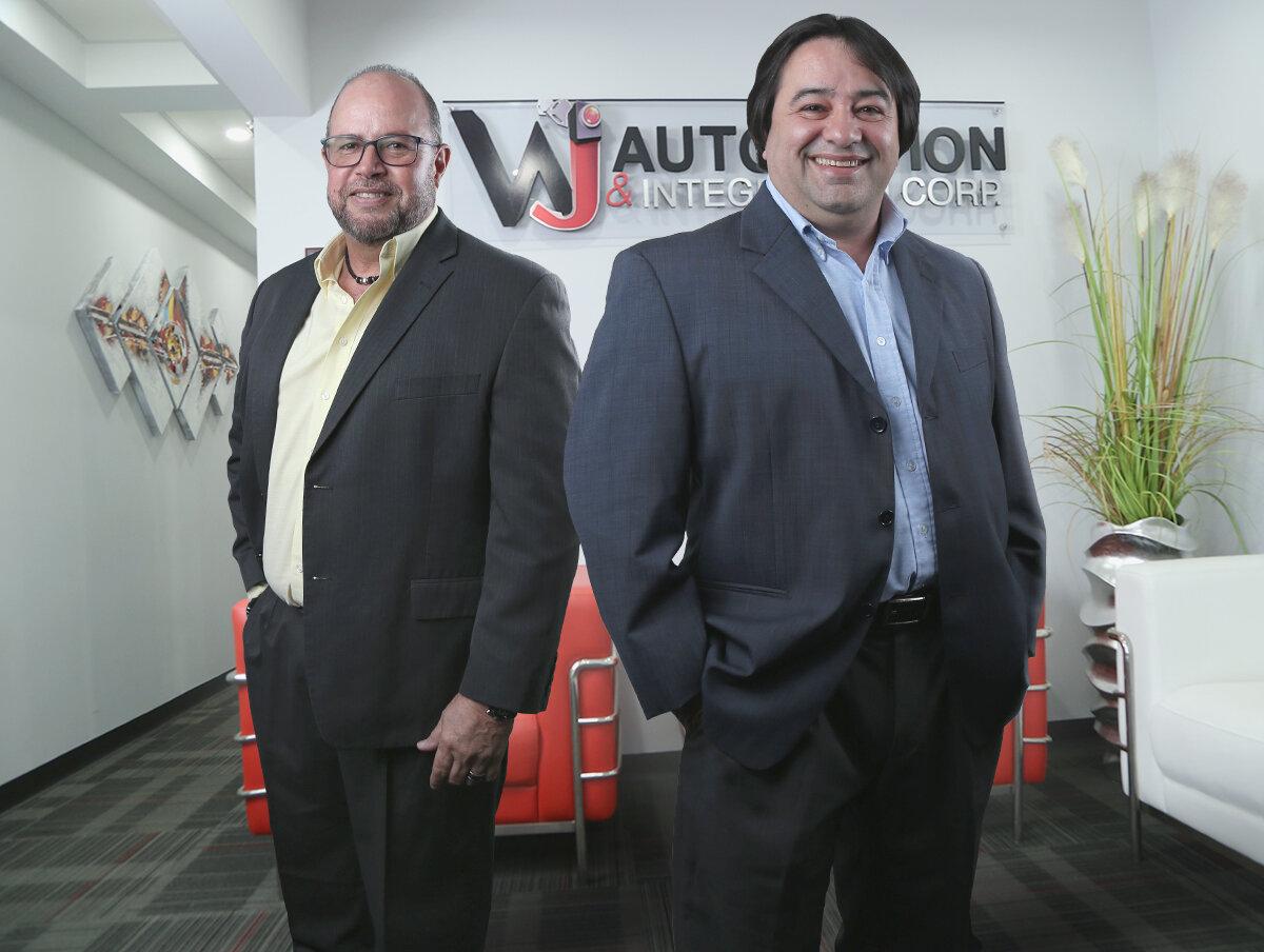 Jesus Otero, Vice-President and Wilfredo Jiménez, President of WJ Automation & Integration.