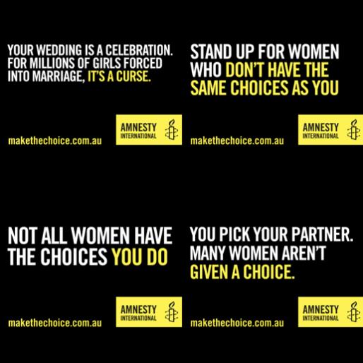 Die Tinder-Kampagne von Amnesty