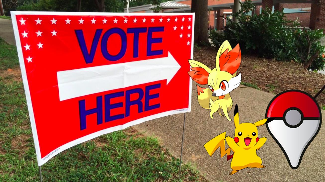 Wählermobilisierung mit Pokémon Go