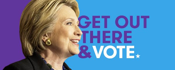 Hillary Clinton Kampagne / Get Out The Vote Campaign