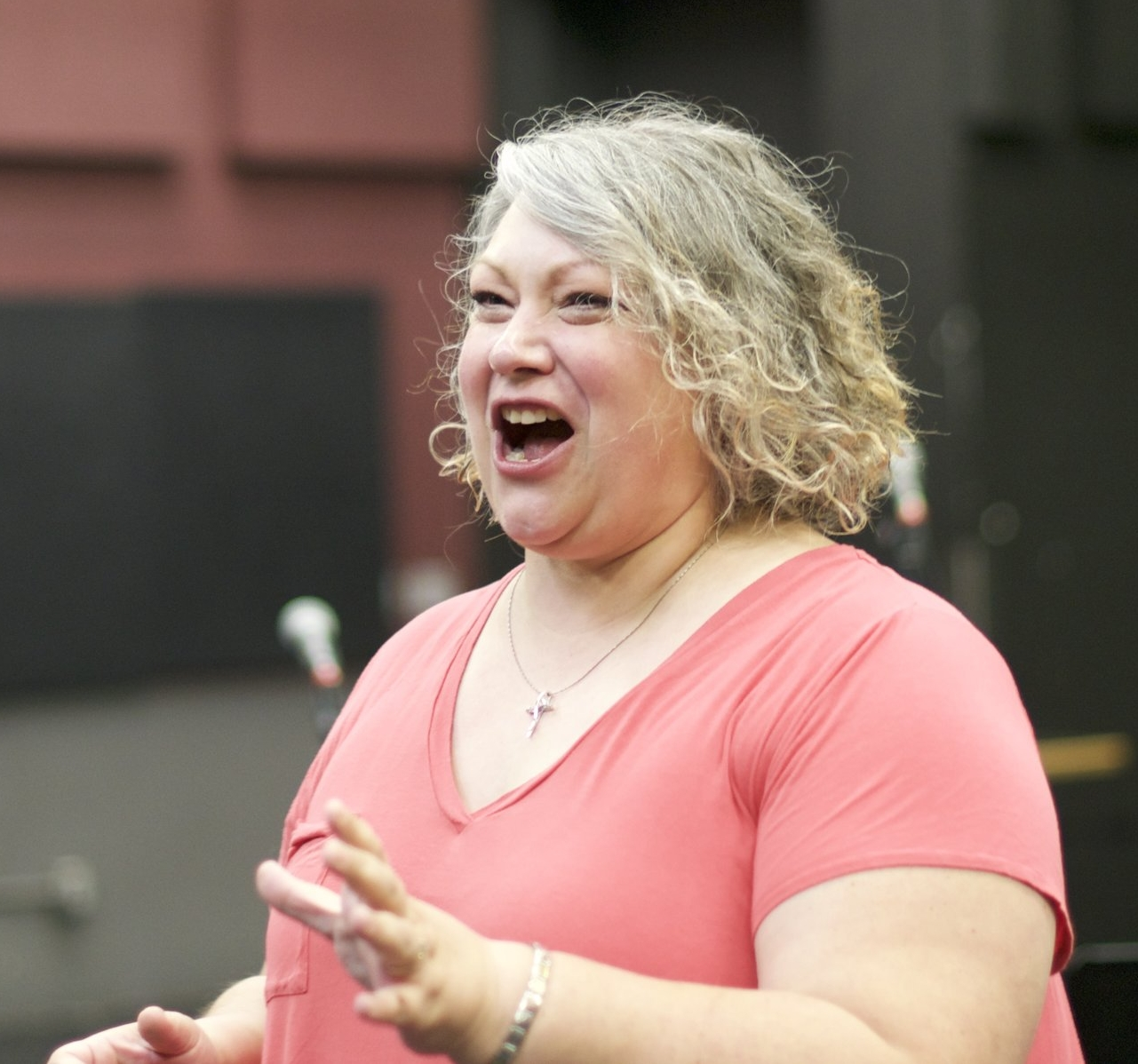 Alexis Hamilton from Portland Opera will be doing one-on-one vocal coaching with students cast in lead roles. Photo credit: Friderike Heuer.