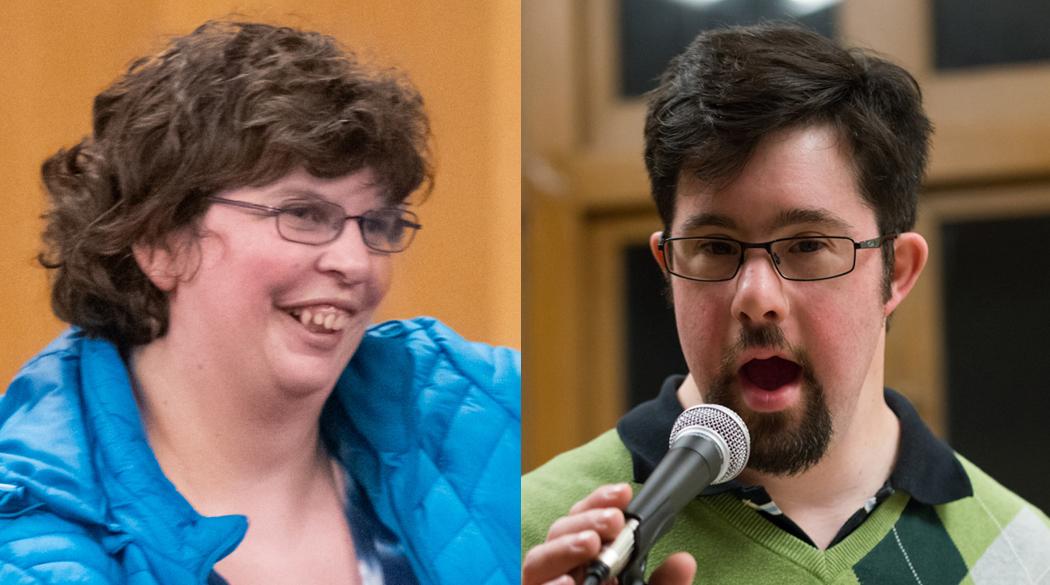 Lea Mulligan & Kyle Brushwein.