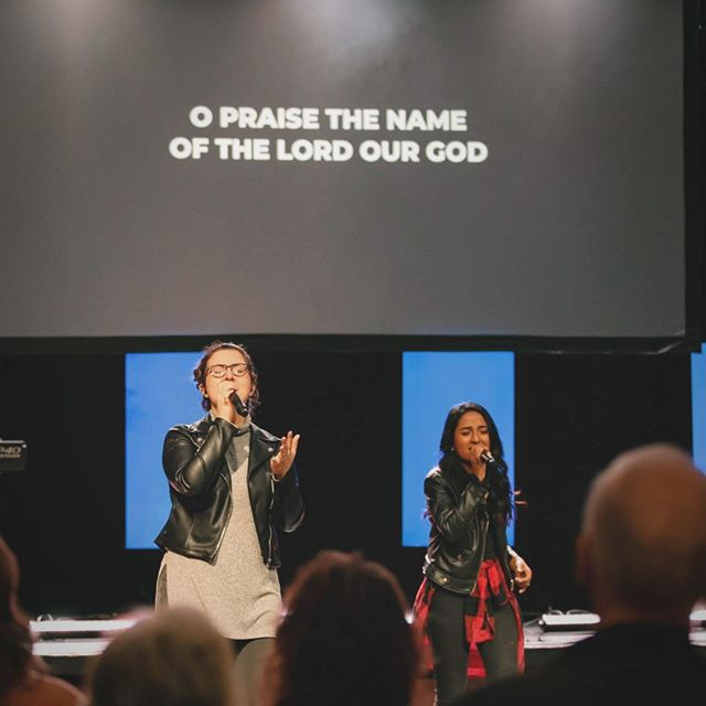 """Healed and forgiven, ⁠ look where my chains are now,⁠ sin has no hold on me⁠ Your grace holds me now""⁠ //⁠ It was great to have you worship with us this week. Have an incredible Monday!"