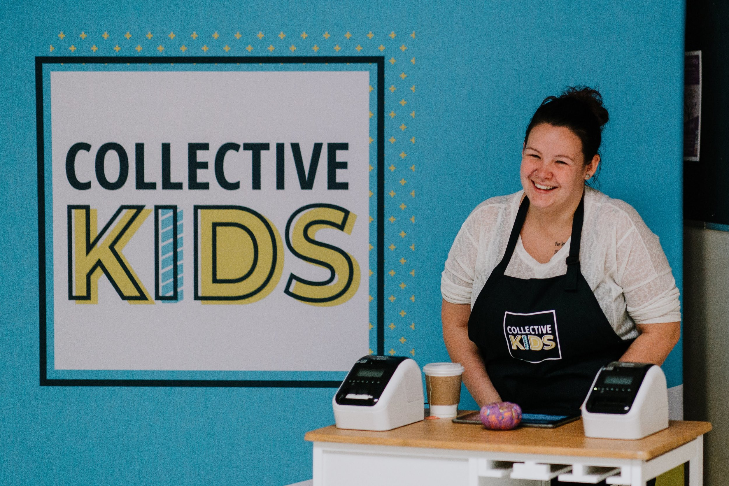 Collective Kids  This team creates spaces for our little ones and provides a Safe, Clean, and Fun place for our Kids. This is the perfect place for you to invest into our next generation. Criminal Record Checks are required to keep our space safe!