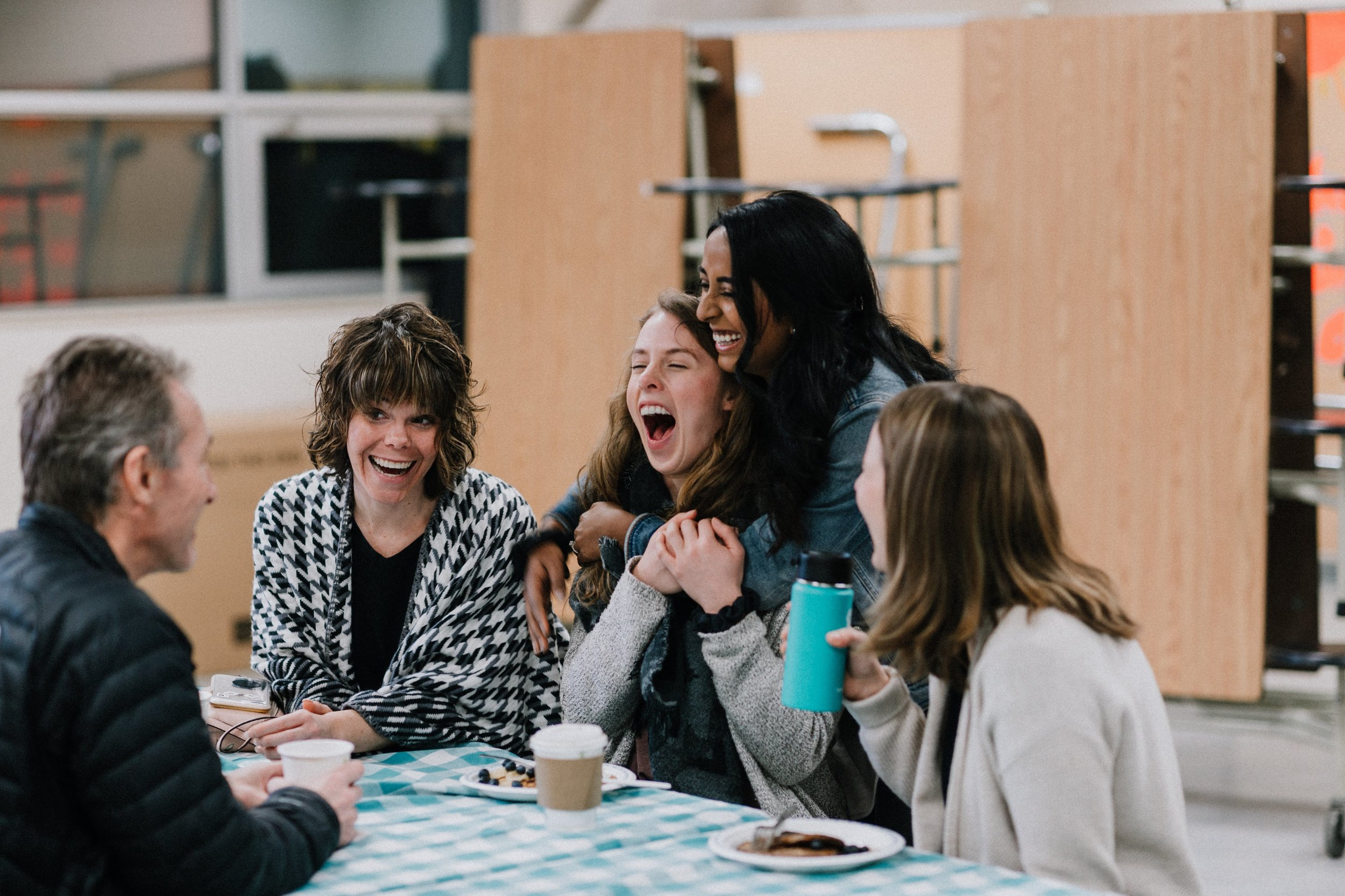 """Community Groups  This team helps create space for real community outside of the four walls of a Sunday Morning. We meet in homes, restaurants, coffee shops, and more as we endeavour to """"do life together""""."""