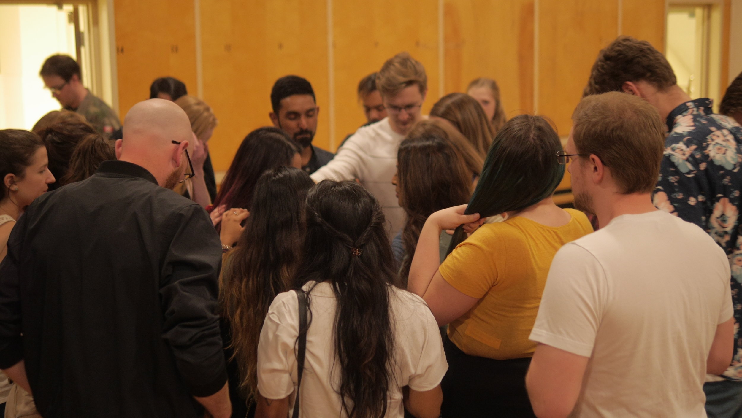 Prayer Team  This team creates space for Prayer. Prayer is our first response. Before the service, after the service, and during the week, this team sets the atmosphere for our church.  + Do you need prayer? We would love to pray for you! Let us know how we can stand with you.