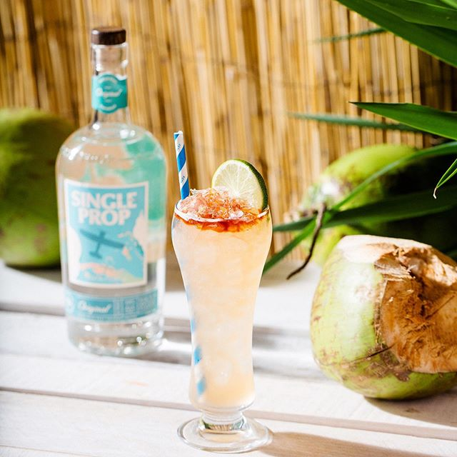 Warm days are among us, which means it's officially #rumseason! Celebrate with a taste of the Caribbean with a Single Prop Rum cocktail! How are you enjoying Single Prop this summer? 🍹 . #rumcocktails #rumlove #rumlovers #summersips #caribbeanrum