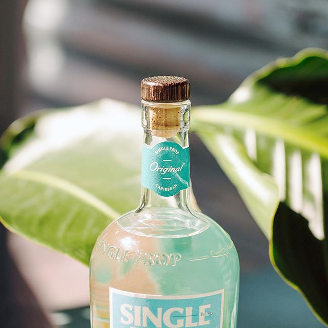 When you're not island hopping, the smooth taste of Single Prop Rum is the next best thing. Each sip takes you (and your taste buds) on an adventure! 🌴 . #rumseason #rumlove #caribbeanrum #whiterum #thirsty #singleproprum