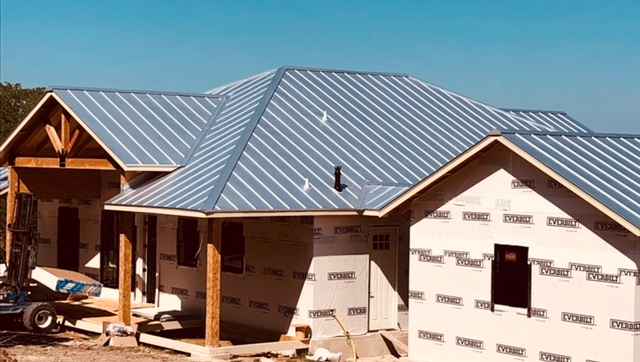 standing seam metal roof systems in Texas