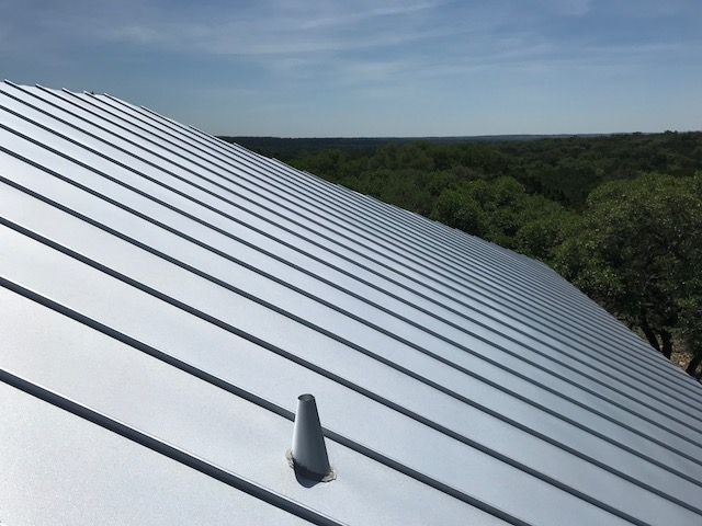 standing seam metal roof in San Antonio