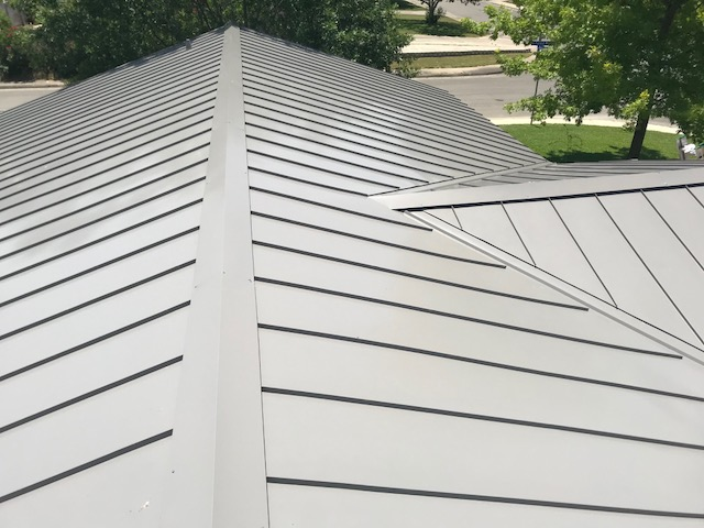 standing seam metal roof systems in New Braunfels