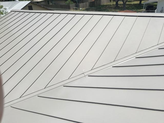 standing seam metal roof in Schertz, TX