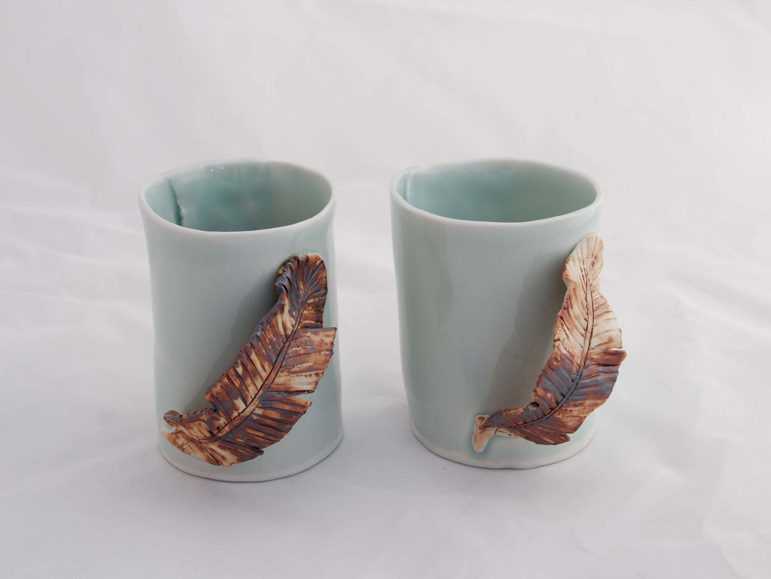Feather Mugs