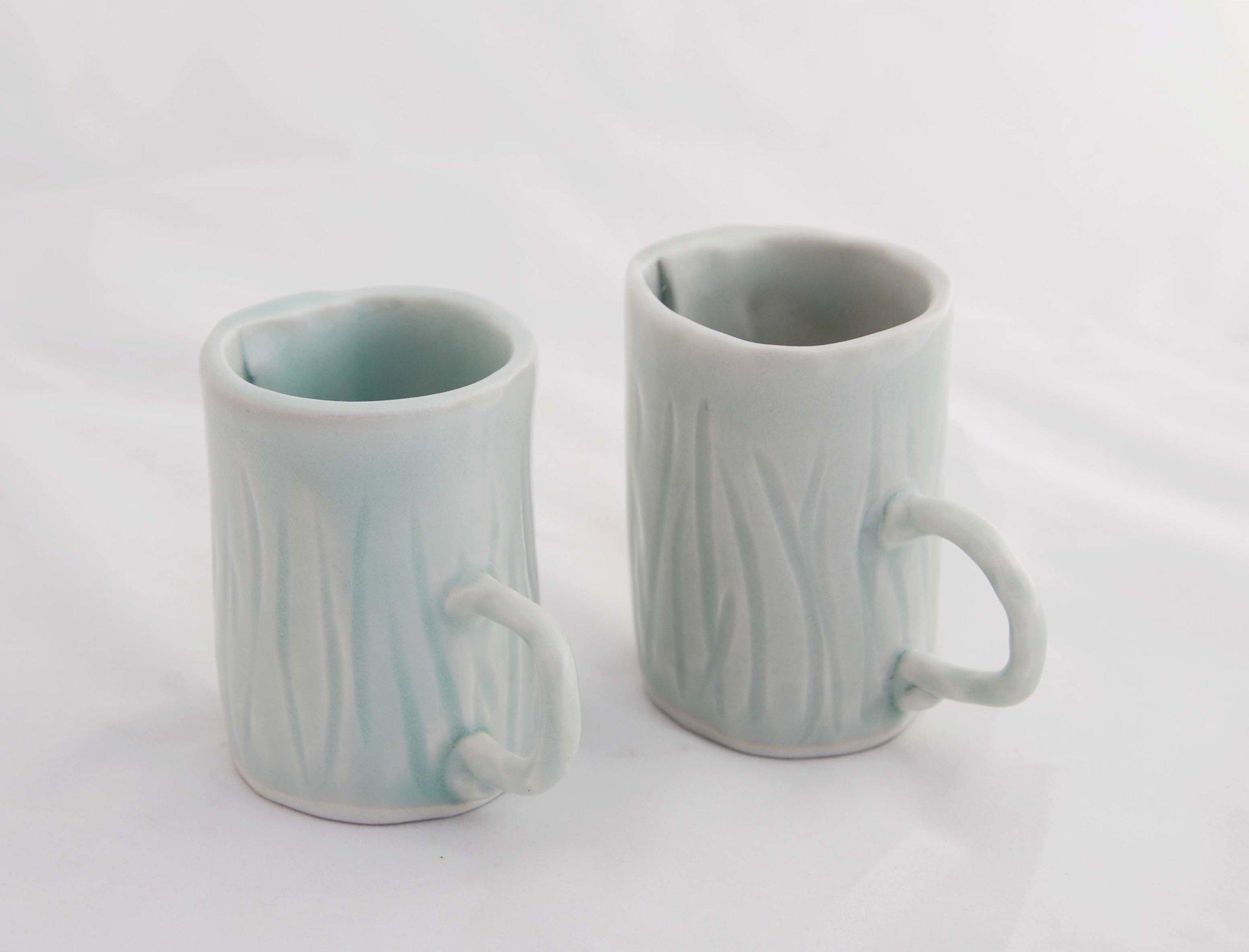 Texture Espresso Cups