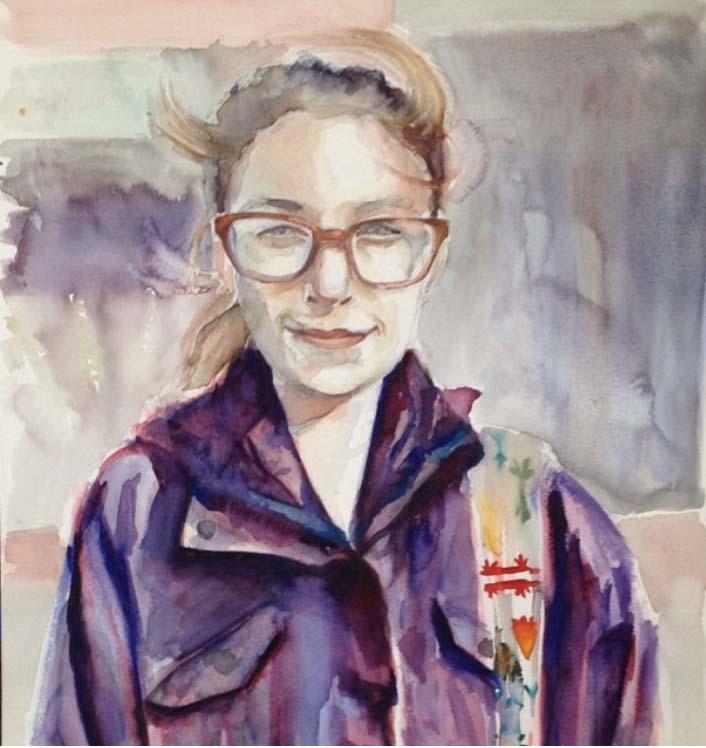 Portrait By Taylor C. Aldrich