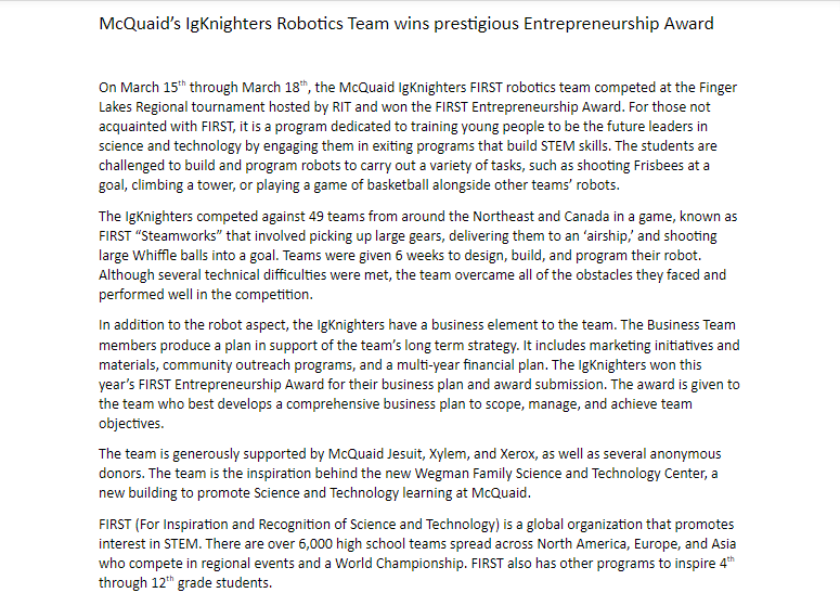 Entrepreneurship Award Press Release.png