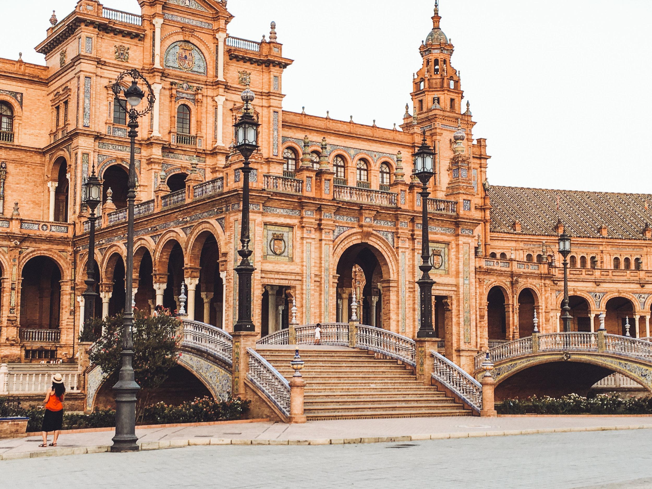 La Plaza de Espagna