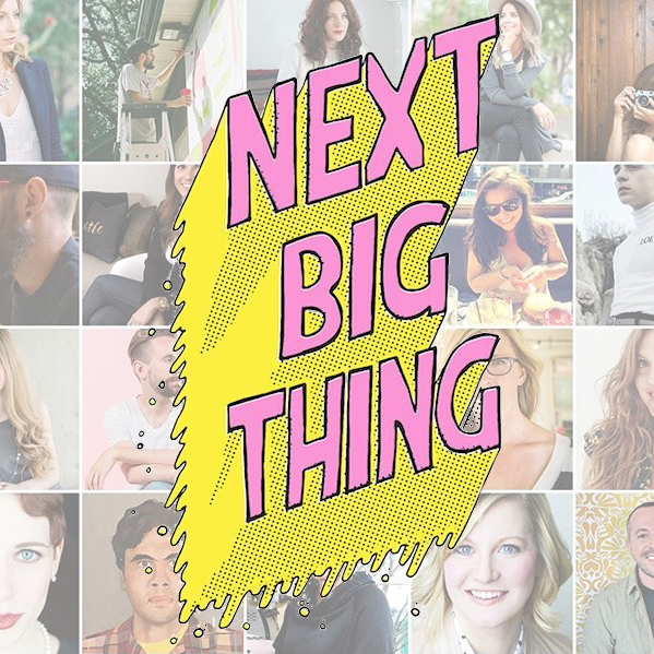 Next Big Thing: Creative Entrepreneurship  Panellist, October 2016