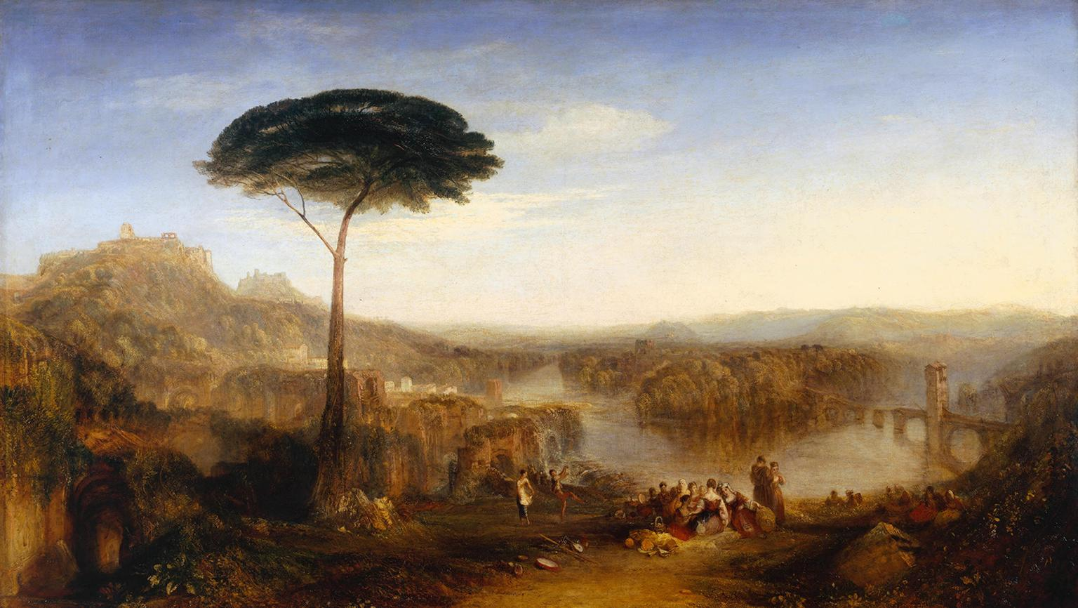 "Joseph Mallord William Turner - ""Childe Harold's Pilgrimage - Italy"" - Tate Britain - Creative Commons CC-BY-NC-ND (3.0 Unported)"