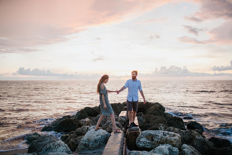 Peter + Kareena Adventurous Sunrise Beach Engagement Session in Palm Beach, FL_0004.jpg