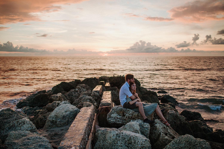 Peter + Kareena Adventurous Sunrise Beach Engagement Session in Palm Beach, FL_0011.jpg
