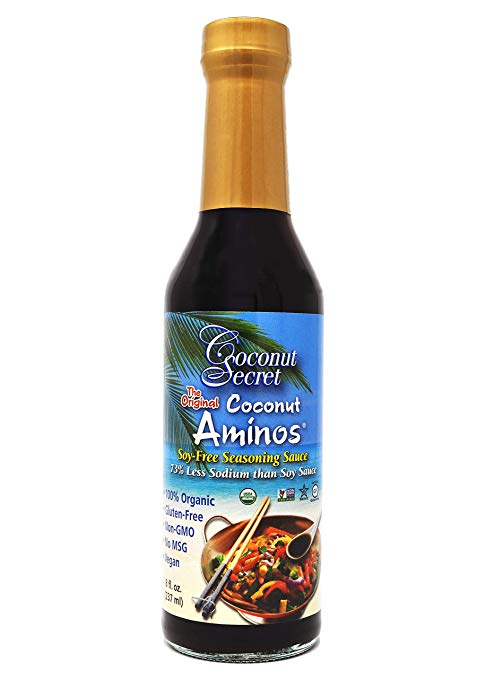 Coconut Aminos, my soy sauce substitute.