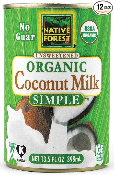 Coconut Milk - my dairy free milk of choice.